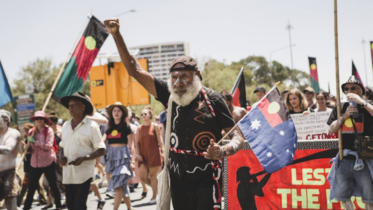 January 26 is referred to as Invasion Day by a large number of Australians. Picture: Jamila Toderas