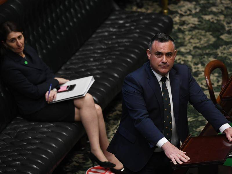 John Barilaro says he and Gladys Berejiklian remain tight after last week's clash over koalas.